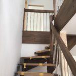 Ansicht der Treppe aus dem EG